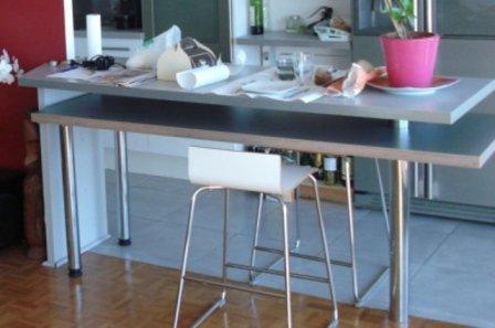 Fixation plan de travail cuisine poser un plan de travail for Fabriquer un plan de travail pour cuisine